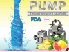 Sanitary Food pump Tapflo for hygienic pumping of liquid and food transfer